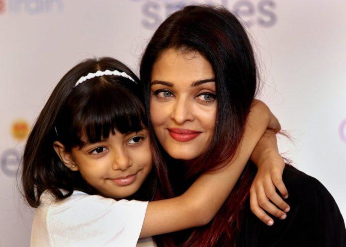 Айшварія Рай з донькою Аарадьєю