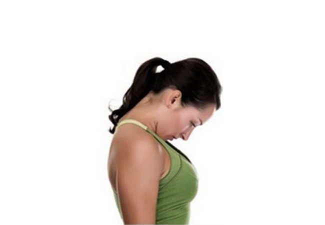 Опущение плеч