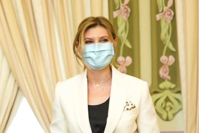 Первая леди Украины заразилась коронавирусом