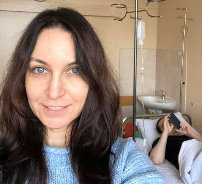 Павел в хосписе вместе с матерью Ларисой Созаевой