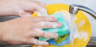 Губка для миття посуду
