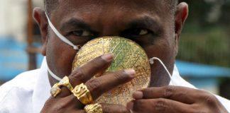 Шанкар Кураде и его золотая маска