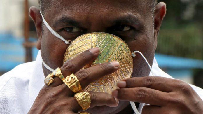 Шанкар Кураде і його золота маска
