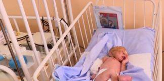 Новорожденная Сашенька