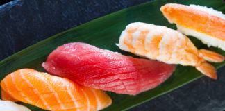 Нигири и сашими