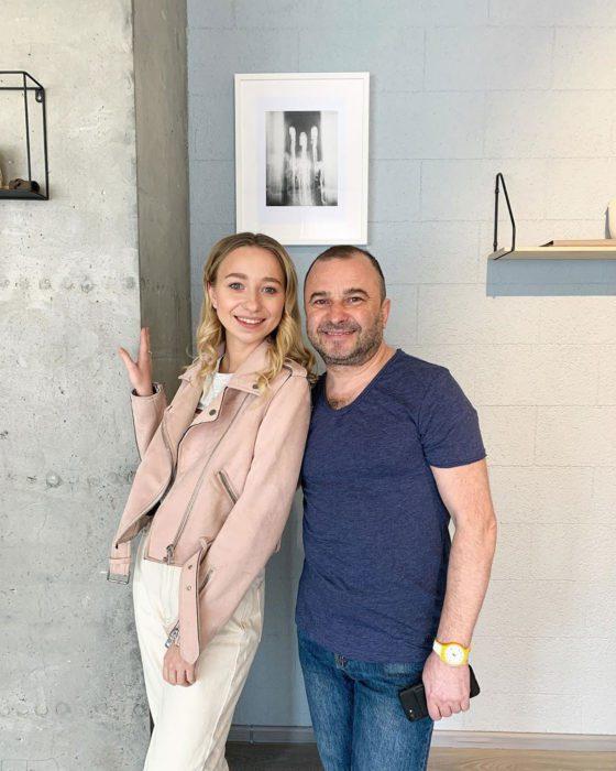 Виктор Павлик с молодой женой Екатериной Репяховой