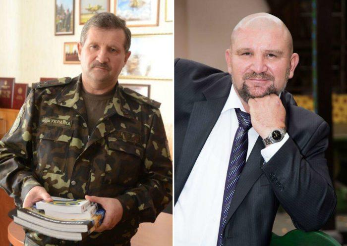Слева Иван, справа Олег