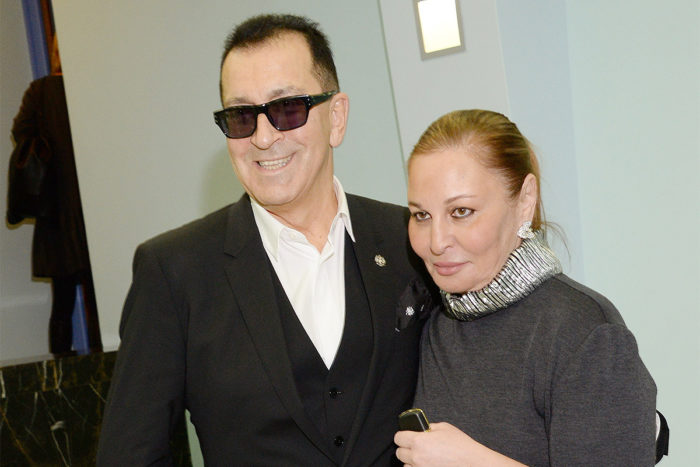 Буйнов с женой Аленой