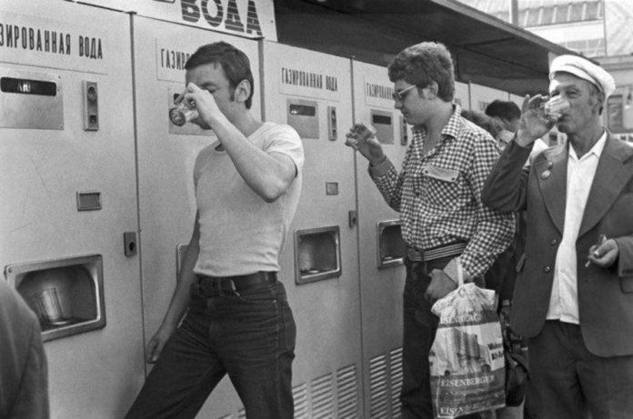 Советские автоматы с газировкой