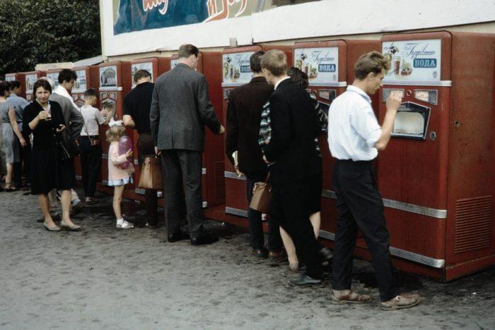 Автоматы пользовались большой популярностью