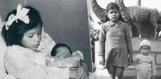 Ліна Медіна з сином Херардо