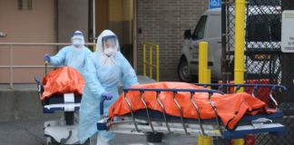 Смерть от бубонной чумы