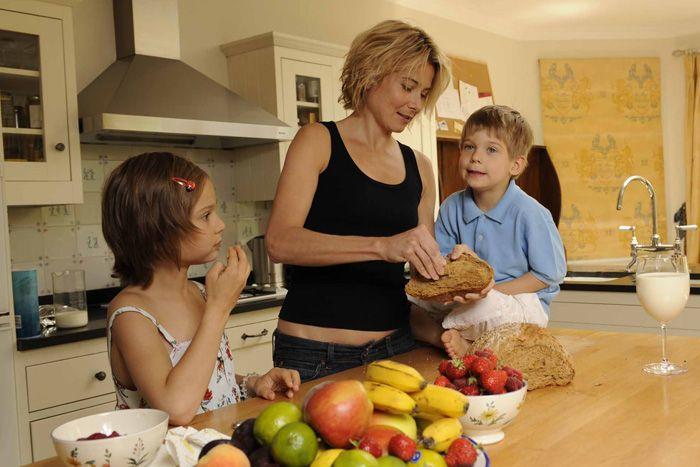 Юлия с детьми