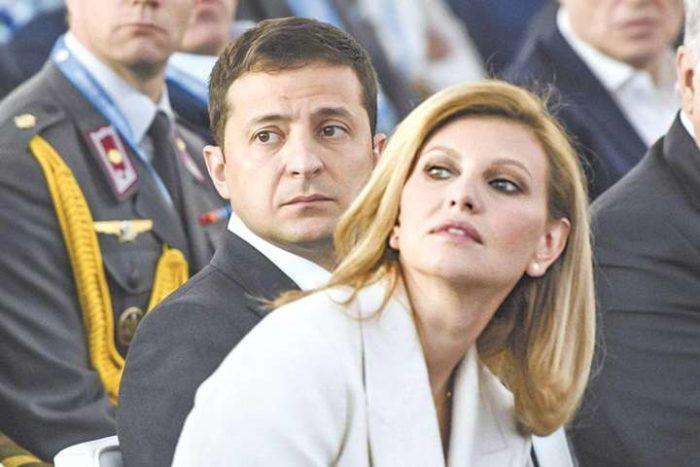 Олена з чоловіком Володимиром Зеленським