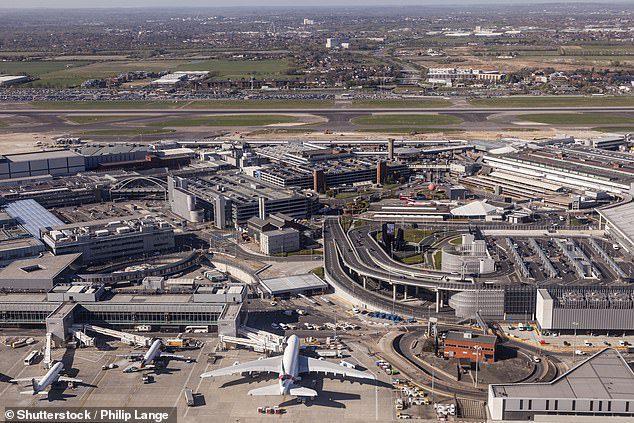 Аеропорт в Дубаях