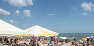 Пляжи Киева и Одессы