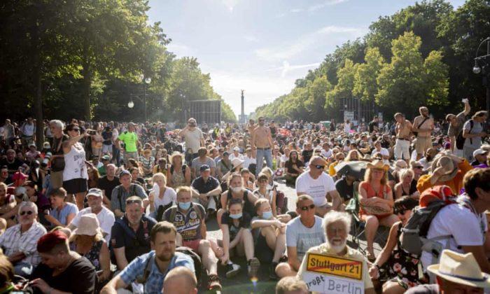 Мітинг в Німеччині