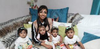 Латина Каур — счастливая мама четверых