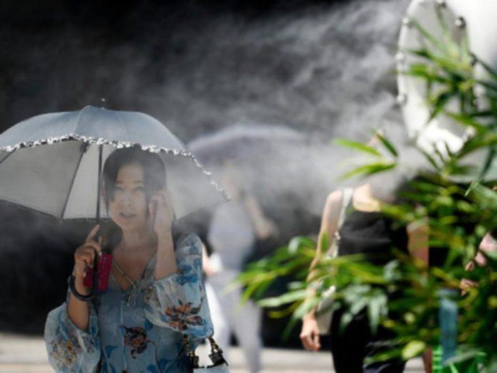 Аномальна спека в Японії