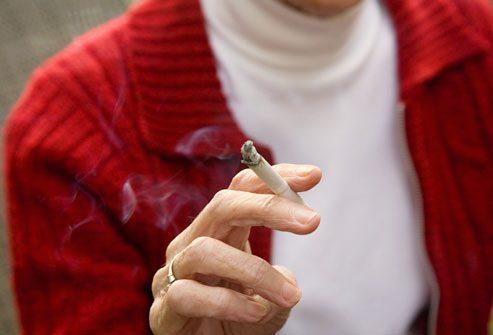 Паління, як одна з причин захворюванння