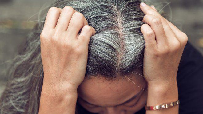 Стрес - основна причина сивини волосся