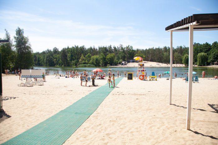 Пляж в Києві
