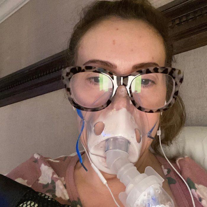 Алисса во время болезни
