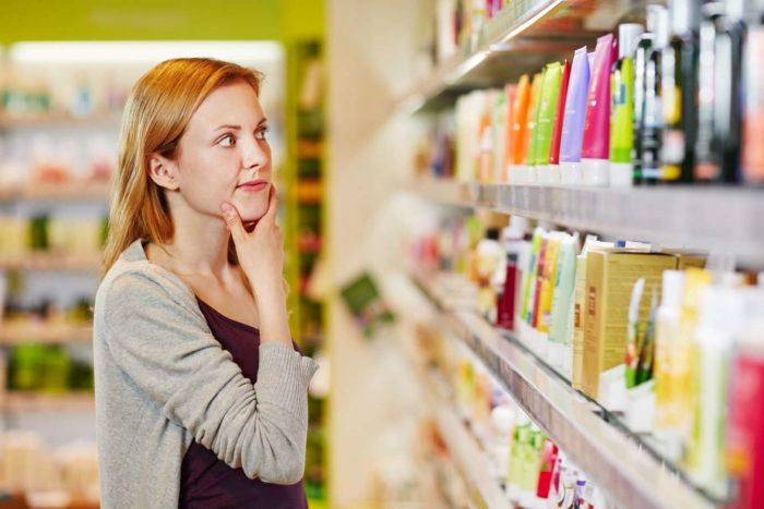 Разнообразие средств по уходу за волосами