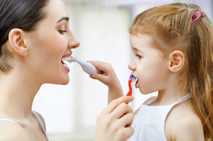 Ежедневная чистка зубов