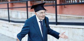 Джузеппе Патерно получил долгожданный диплом бакалавра