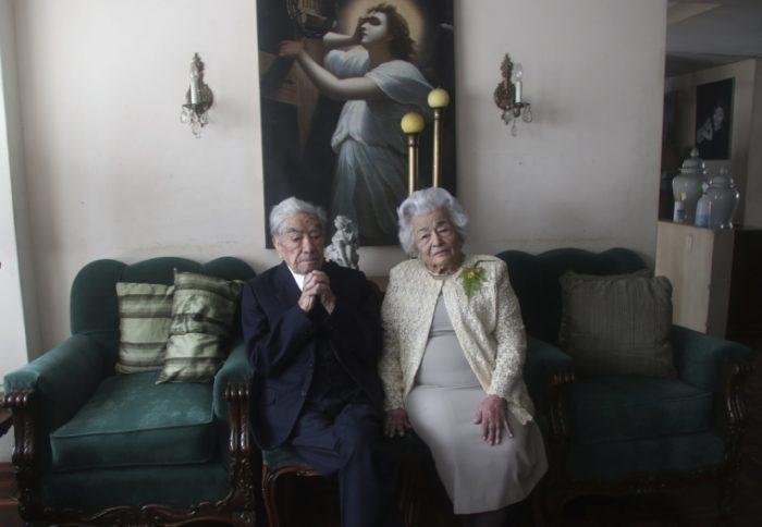Хуліо Мора - 110 років, та його дружина Вальдраміна Кінтерос - 104 роки