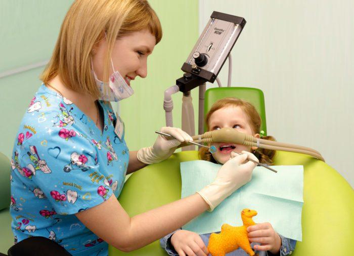 Седацию часто применяют в стоматологии для детей