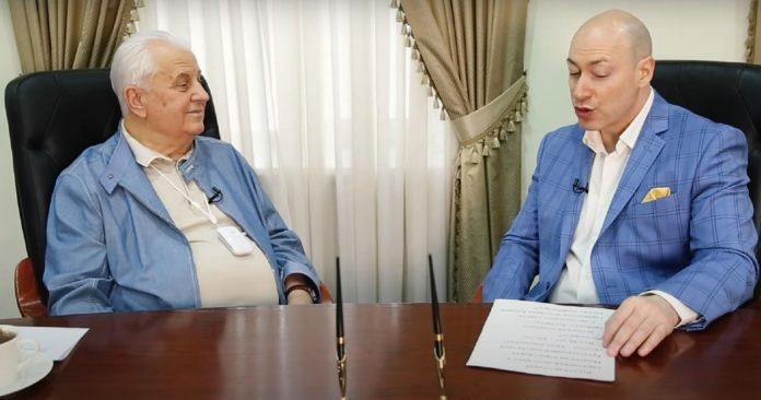 Леонид Кравчук и Дмитрий Гордон