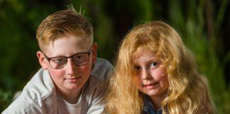 Харрісон і його сестричка Єва