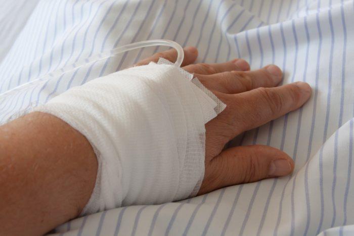 Обработанная рана