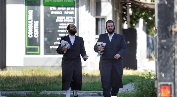 Юдеї на вулицях Умані