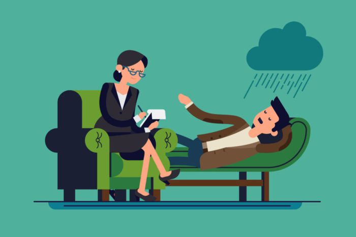 Прийом у психотерапевта
