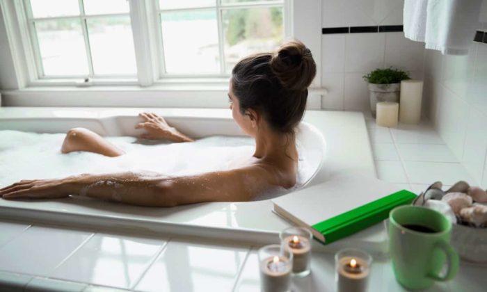 Расслабление в ванной