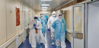 Заполненные больницы коронавирус