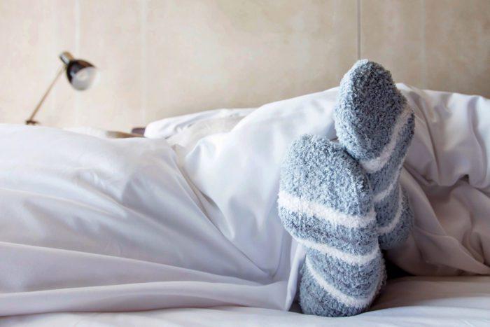 Сон под одеялом