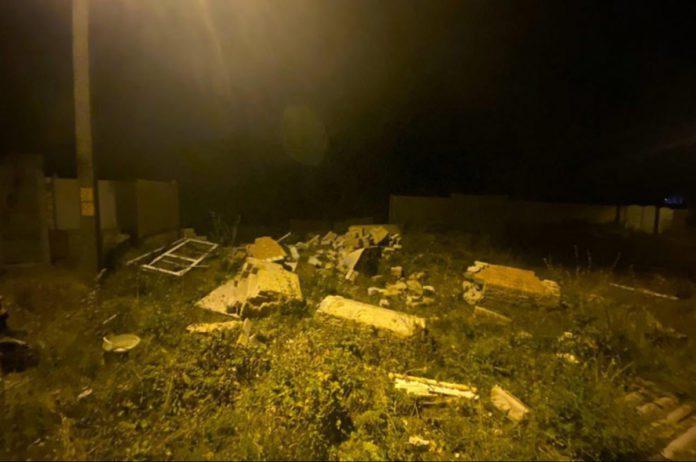 Взрыв двухэтажного дома в Днепре