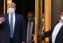 Коронавирус у Дональда Трампа