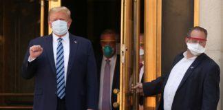 Коронавірус у Дональда Трампа