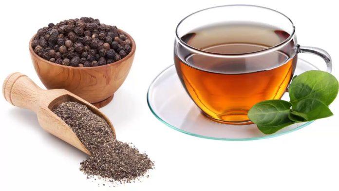 Чай с черным перцем