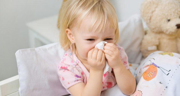 Ребёнок простудился