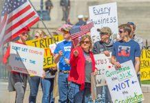 Протесты против коронавируса