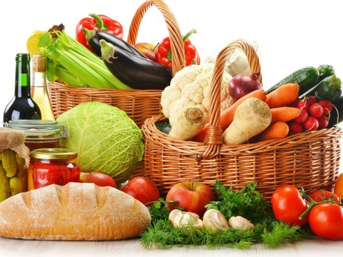 Полезные группы продуктов